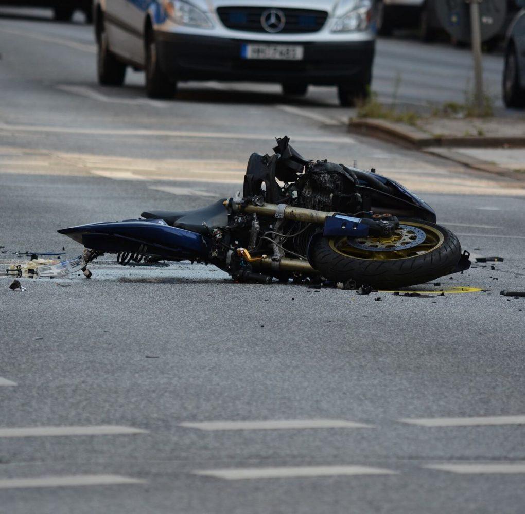 reclamafacil accidente de moto